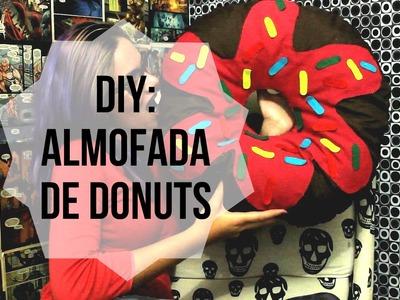 DIY ALMOFADA DE DONUTS - Natália Callejaon