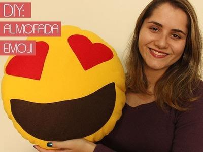 DIY: Almofada de Emoji
