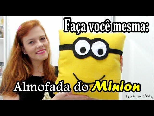 DIY: Almofada do Minion - por: Gaby Colombo