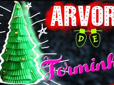 DIY: Árvore com Forminhas de Brigadeiro| Especial de Natal #5