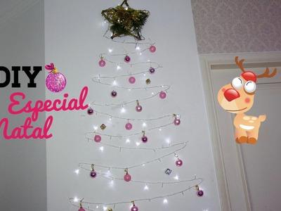 DIY: Árvore de Natal Diferente I Especial de Natal