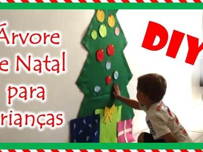 DIY: Árvore de natal para crianças | Fran Santos