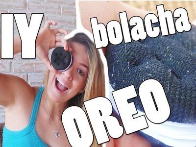 DIY bloco de notas BOLACHA OREO
