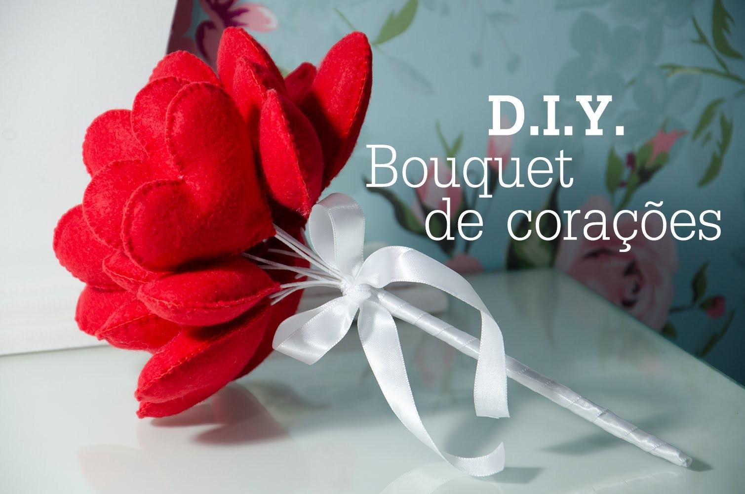 DIY Bouquet de corações