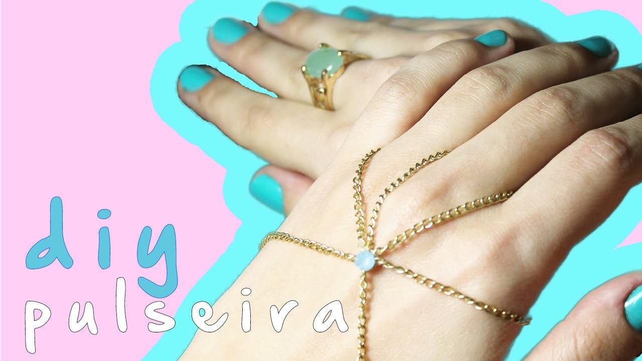 DIY bracelet - pulseira fácil Camila Coutinho