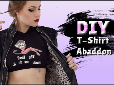 DIY - Camiseta da Abaddon SUPERNATURAL