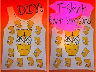 DIY: Camiseta do Bart Simpson