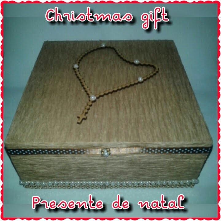DIY: Christmas Gift | Faça você mesmo: Presente de Natal