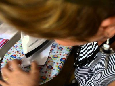 DIY : Colocando o colarinho simples na camisa - Aula 50.4