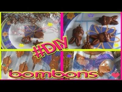 #DIY Como fazer bombom + Pirulito de Chocolate