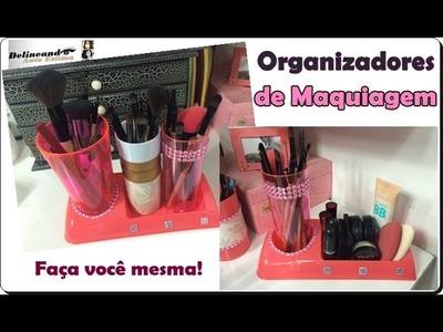 DIY: Como fazer organizador de maquiagem gastando pouco!
