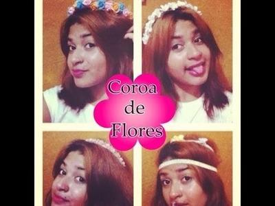 DIY: Coroas de Flores | Especial de Outono .Por Monalisa Oliveira