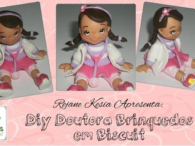 Diy doutora brinquedos em Biscuit - Rejane Kesia