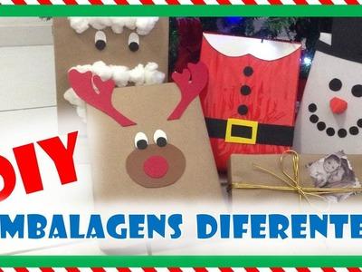 DIY: Embalagens Criativas para os presentes de Natal