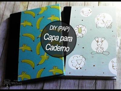 DIY- Encadernação - Capa para Caderno de Brochura