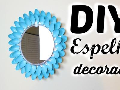 DIY - Espelho decorado (Faça você mesmo)