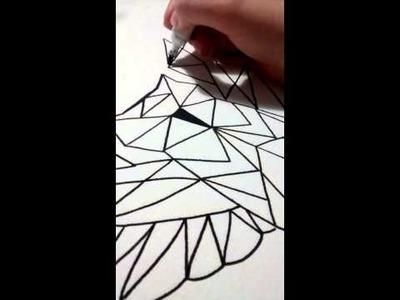 DIY Estampa com caneta de tecido - Conigli.