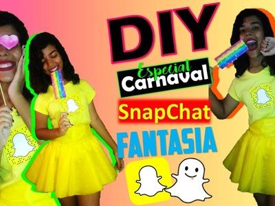 DIY Fantasia Inspirada no SNAPCHAT (Gastando 18 reais)