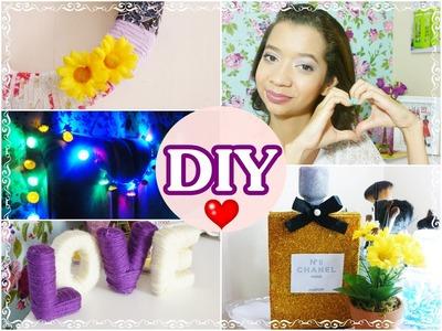 DIY | Ideias simples e baratas para decorar o seu quarto ♥ | #JessycaTodoDia 24