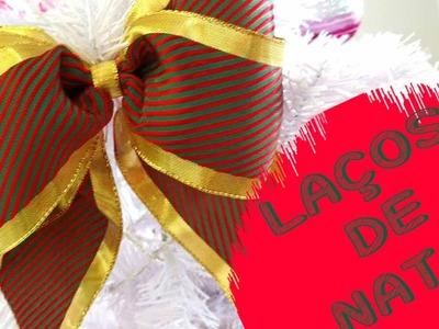 DIY: Laços de natal!!!