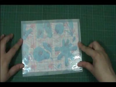 DIY - Laminando com Papel Contact