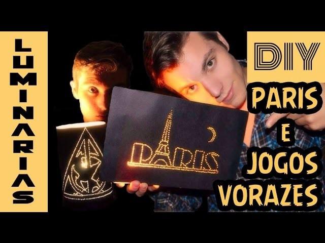 DIY - Luminária Paris e Relíquias da Morte com o Tordo - Eduardo Wizard