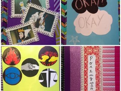 DIY: MATERIAIS ESCOLARES - SCHOOL SUPPLIES
