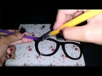 DIY:óculos da Isabela de cúmplices de um resgate