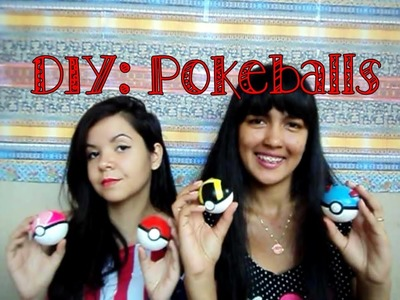 DIY: Pokeball, Great ball, Love ball e Ultra ball