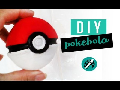 DIY POKEBOLA ❤ GEEK TUTORIAIS
