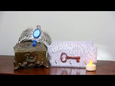 DIY - Porta chaves alohomora