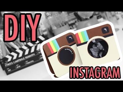 DIY Porta Retrato Instagram ♥ Priscila Paes