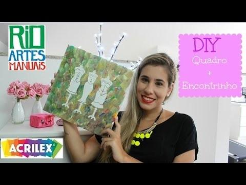 DIY:Quadro Manequim   POR CAROL GOMES