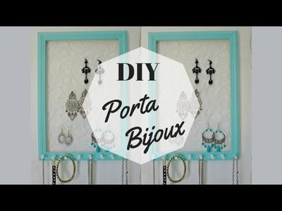 DIY: Quadro porta bijoux! Por Juliana Frygoudakis (blog Chá de Caneca)