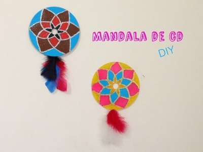 DIY (Reciclável) | Mandala de CD