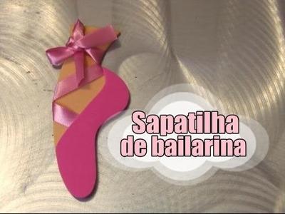 DIY.: Sapatilha de Bailarina