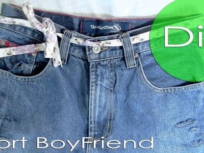 Diy - Short BoyFriend. Thábatta Campos