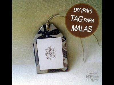 DIY - Tag para Malas