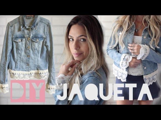 DIY: TRANSFORME SUA JAQUETA JEANS