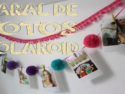 DIY: Varal de Fotos Polaroid Pompom