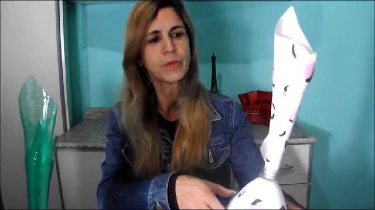 DIY: Vaso de Garrafa Pet
