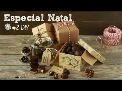 Especial de Natal #2 DIY Bombons recheados | Made by Choices