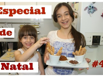 Especial de Natal #4 : DIY Churros Gourmet com Carol Santina #Vlogmass