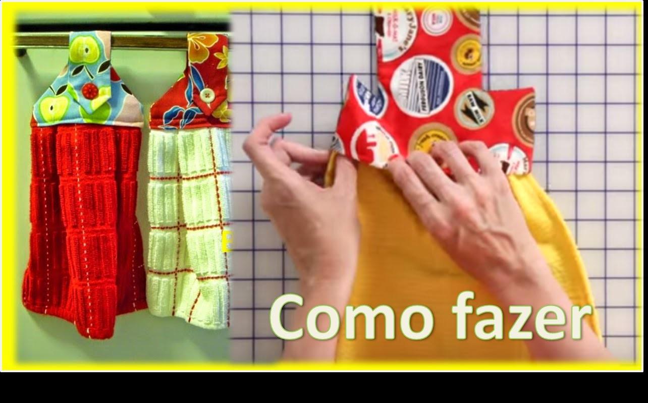 Adesivo Desentupidor De Vaso Sanitário ~ Fácil de Fazer BATE MÃO com PANO DE PRATO + molde Artesanato Passo a Passo