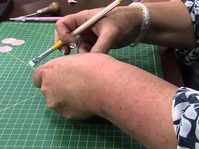 Mulher.com 12.11.2014 - Flores em Scrap para Decoração por Ana Gomes - Parte 2