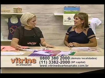 Regata Customizada com Valéria Souza - Vitrine do Artesanato na TV