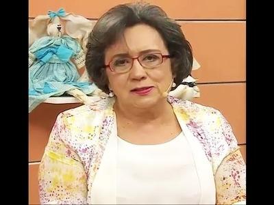 Toalha Catavento com Elza Aidar | Vitrine do artesanato na TV