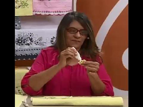 Toalha de Rosto com Apliques com Lili Negrão | Vitrine do Artesanato na TV