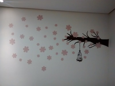 Tutorial: Como fazer.aplicar adesivo de parede