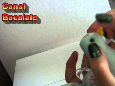Artesanato Como ARREMATAR OLHOS em FELTRO ou TECIDO MIÇANGAS, pérolas, botões DICA, DIY